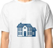 American Traditional House Isolated Retro Classic T-Shirt