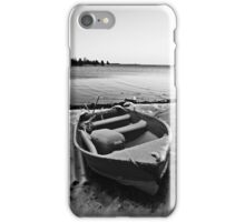 Boat in the Winter iPhone Case/Skin