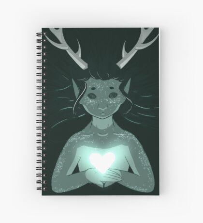 Deer boy Spiral Notebook