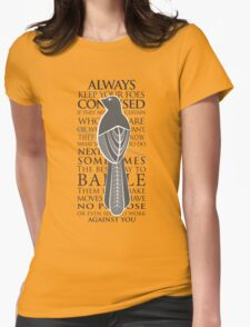 Baelish Sigil - Quote Womens Fitted T-Shirt