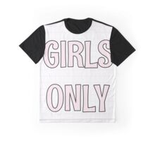 Girls Only - Grid Graphic T-Shirt