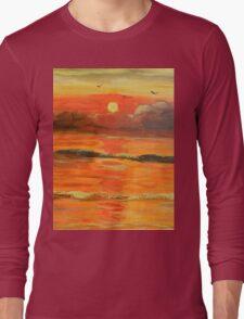 Sunrise over the Ocean Long Sleeve T-Shirt