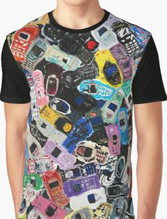 Recycled Mobile Phone cases - Original Art  Graphic T-Shirt