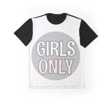 Girls Only - Grey Graphic T-Shirt