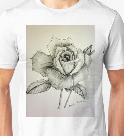 Rose Monotone  Unisex T-Shirt