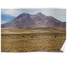 Atacama Landscape Poster