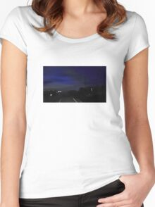 Late Night Trip Women's Fitted Scoop T-Shirt