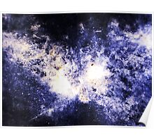 When Galaxies Collide (Sodalite) Poster
