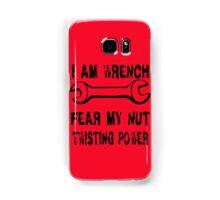 I Am Wrench Samsung Galaxy Case/Skin