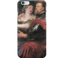Peter Paul Rubens - Venus And Mars . Lovers portrait:  seductive goddess, woman and man, Venus,  Mars , embrace, lovely couple, war god, gods, angel, women and men, female and male iPhone Case/Skin