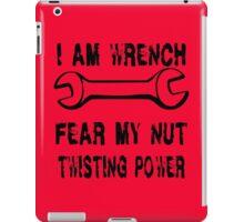 I Am Wrench iPad Case/Skin