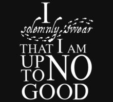 Harry Potter I Solemnly Swear One Piece - Short Sleeve