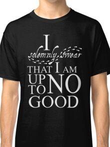 Harry Potter I Solemnly Swear Classic T-Shirt