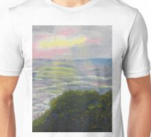 Rays of Light at Burliegh Heads Unisex T-Shirt