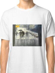 Rainy City Street Classic T-Shirt