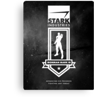 Stark Industries - Mark III Canvas Print