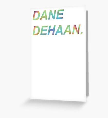 Dane DeHaan Greeting Card