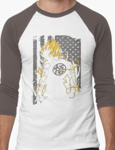 Goku Super Saiyan Men's Baseball ¾ T-Shirt