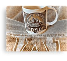 Happy Fathers Day Canvas Print