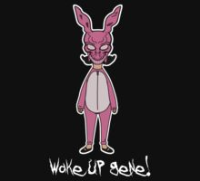 Wake up Gene! Frank/Louise (Black) by RumShirt