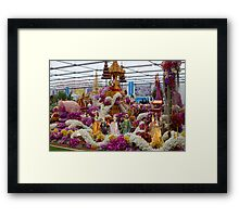 Thailand display at the RHS Chelsea Flower Show Framed Print