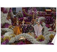Thailand display at the RHS Chelsea Flower Show Poster