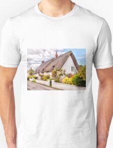 Thatched Cottage Avebury Unisex T-Shirt