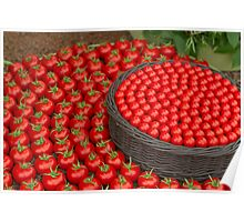 Waitrose Tomatoes on display at the  RHS Chelsea Flower Show Poster