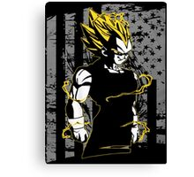 Vegeta Super Saiyan Canvas Print