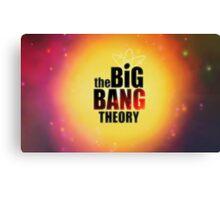 Big bang theory serie Canvas Print
