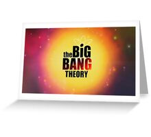 Big bang theory serie Greeting Card