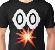 EXPLOSION CLOUD EYES FACE Unisex T-Shirt