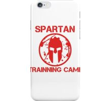 SPARTAN TRAINNING CAMP iPhone Case/Skin