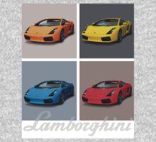 Lamborghini Gallardo T-shirt - 1 One Piece - Short Sleeve