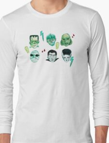 Universal Monsters Long Sleeve T-Shirt