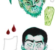 Universal Monsters Sticker