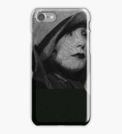 The Greta Garbo Tattoo iPhone Case/Skin