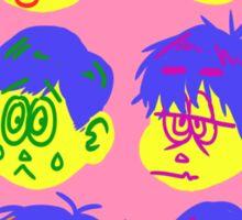 all them boyz Sticker