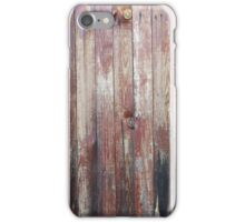 Weathered Wood Wall Texture iPhone Case/Skin