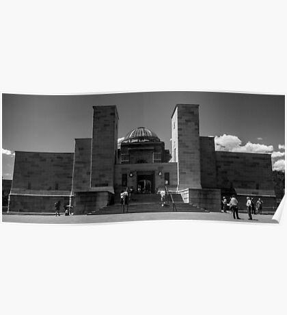 Canberra War Memorial Poster