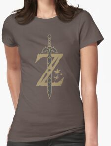 The legend of Zelda - Breath of wild [HQ] Womens Fitted T-Shirt