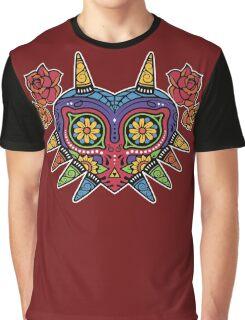 Legend of Zelda - Majora's Mask (Flowers) Graphic T-Shirt