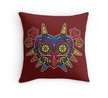 Legend of Zelda - Majora's Mask (Flowers) Throw Pillow