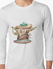 Tea hat from M. Hatter Long Sleeve T-Shirt