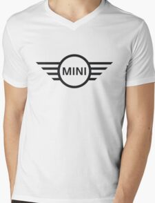 Mini Cooper logo Mens V-Neck T-Shirt