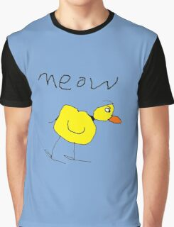meow the duck Graphic T-Shirt