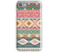 Seamless pattern in native american style iPhone Case/Skin