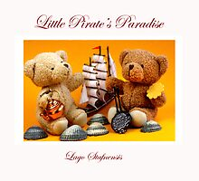 Little Pirate's Paradise @ Lago Stafnensis Pillow  by SmoothBreeze7