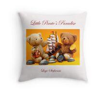 Little Pirate's Paradise @ Lago Stafnensis Pillow  Throw Pillow