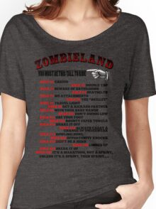 This tall to ride Zombieland Women's Relaxed Fit T-Shirt